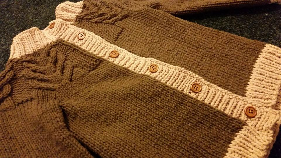 Knit: Baby Cardigans