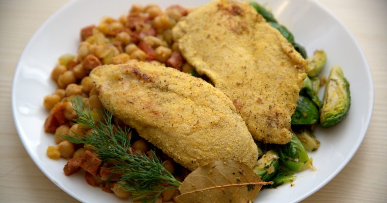 Cornmeal Crusted Chicken